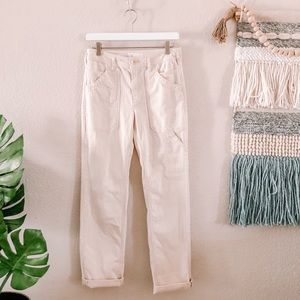 By Anthropologie High Rise Cargo Pants